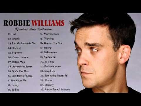 Robbie William Greatest Hits - The Best Of Robbie William - YouTube