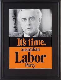"Gough Whitlam (1916-2014). I recall the first time I laid eyes upon him. It was at a Labor rally at the suburban Greensborough Football oval in Victoria. The ""Its Time"" slogan had indelibly entrenched itself on my political awareness. All that I thought decent about Labor and its reformist zeal was encapsulated in the words… http://theaimn.com/a-giant-of-a-man-yes-he-was-indeed/"