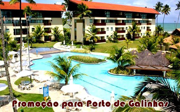Marulhos Resort em Porto de Galinhas a partir de R$ 860 #portodegalinhas #viagens #promoção #pacotes
