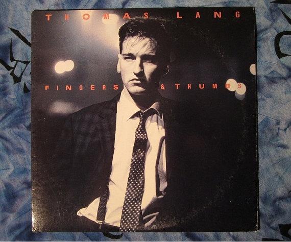Thomas Lang- Fingers & Thumbs (1987, Pop ,Promo  LP Vinyl Record)$11