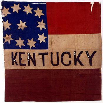 Vintage Kentucky flag