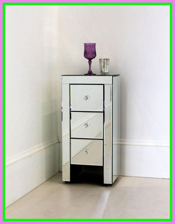 tall thin dresser black