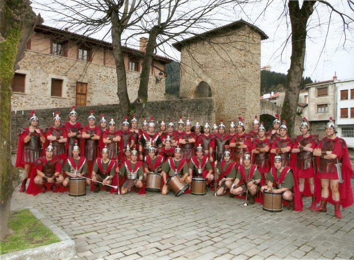 Guardia Romana de la Pasión Viviente de Balmaseda