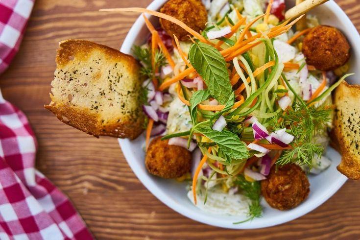 Food Salad Macro Fresh Healthy