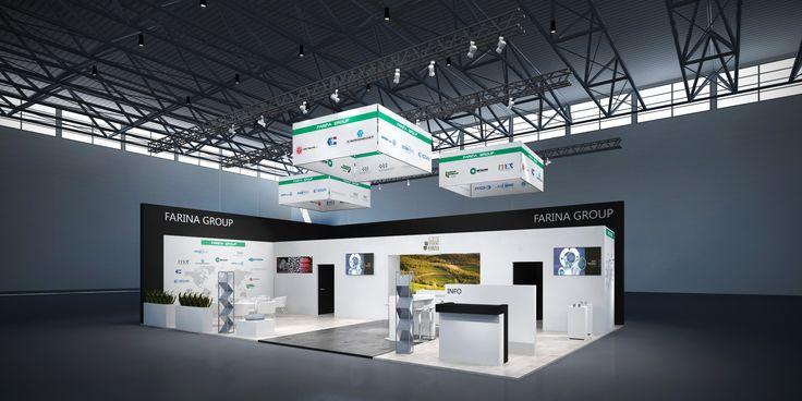 Farina Group Konzeptentwurf zur TUBE, Düsseldorf 135m²