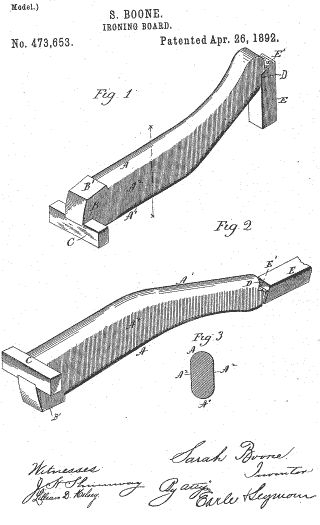 Sarah Boone was anAfrican-Americaninventor who on April 26, 1892, secured U.S. patentrights for her improvements to theironing board.Boone's upgrades to the ironing board helped to improve the quality of ironing sleeves and the bodies of women's garments. The board was narrow, curved, and made of wood. The shape, design and structure made it easy to […]