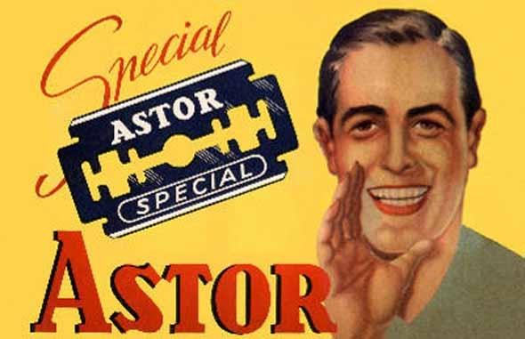 ASTOR razor blades