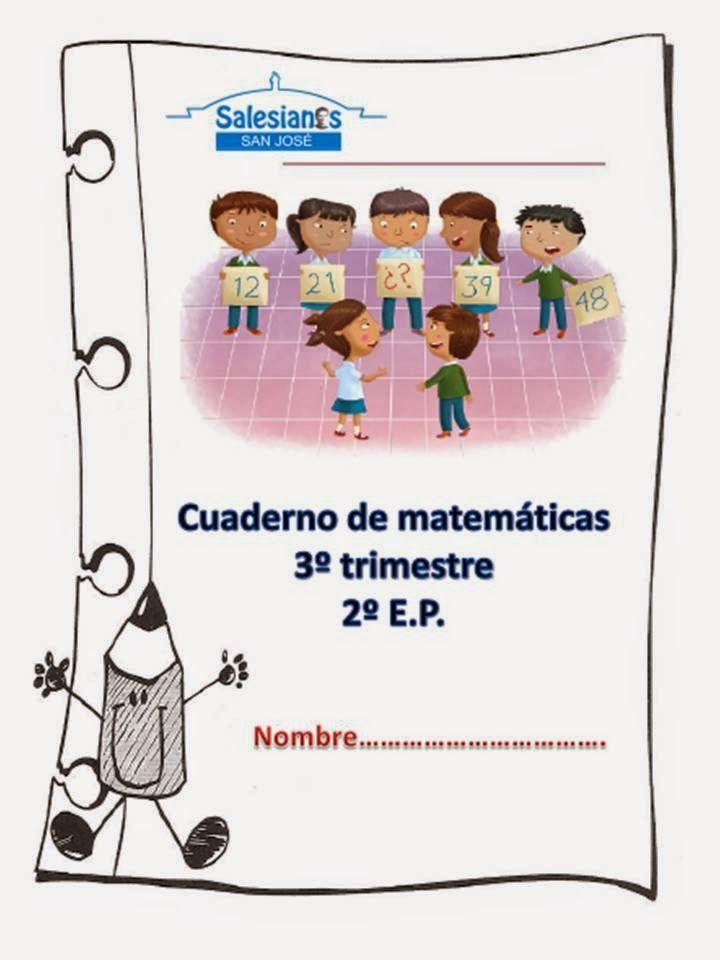 El blog de nuestros peques 1º y 2º : CUADERNILLO DE MATEMÁTICAS PARA 2º E.P