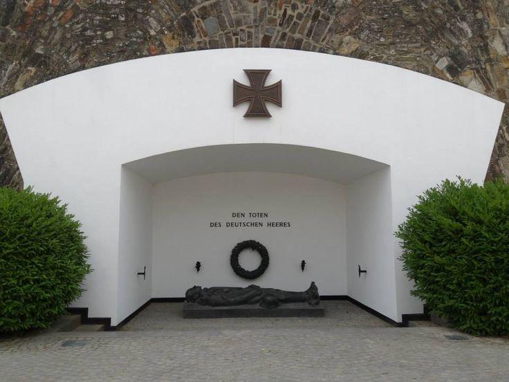 German Army Memorial, Festung Ehrenbreitstein, Koblenz, June 2014.