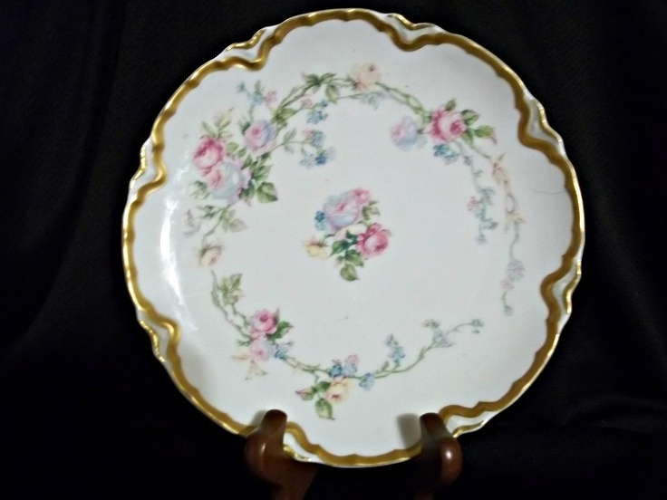 """This was an extremely rare Haviland & Co Limoges porcelain plate with the pattern """"Ardennes"""". The plate was sold quite quickly for a steal at our eBay store!"""