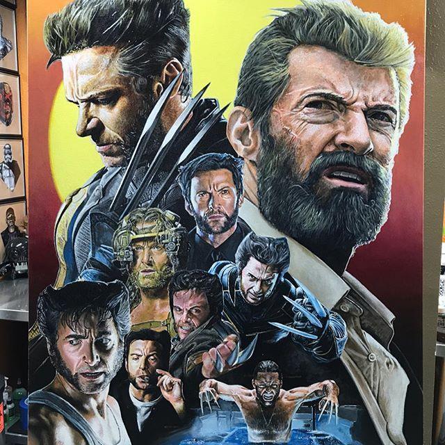 Another pic of my 30 x 40 painting of @thehughjackman as Wolverine from all 9 films.  150+ hours, all acrylic! • • • #art #artist #artwork #artistsoninstagram #painting #prismacolor #drawing #sketch #instaart #marvel #art_spotlight #arts_help #arts_mag #worldofpencils #worldofartists #artofdrawingg #picoftheday #sketch_daily #photooftheday #deadpool #xmen #artoftheday #artfido #like4like #edewaardartwork #sketchzone #matthewedewaard #wolverine #Logan #hughjackman @comicbookhq @marvel_art…