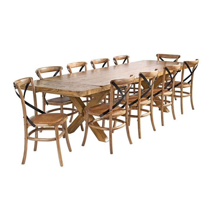 Dare Gallery Bordeaux Large Dining Table 240cm 1899