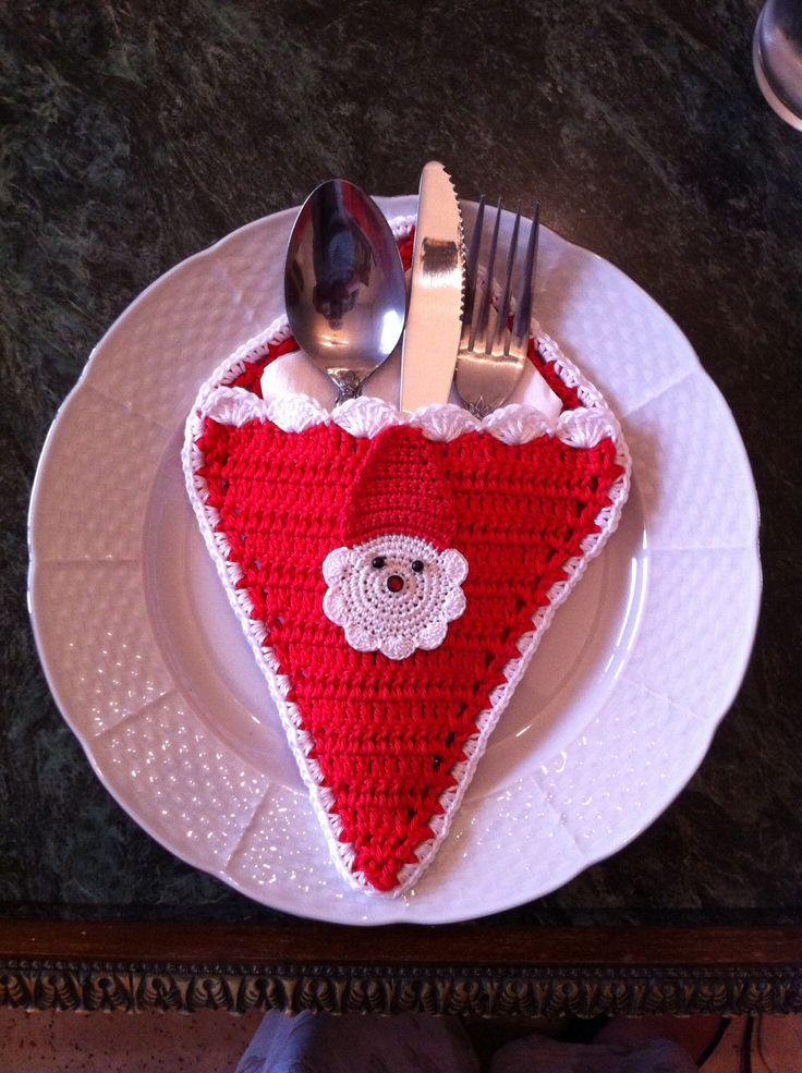 Santa Dish Holder