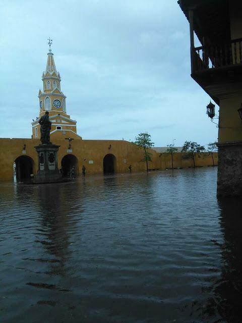 Cartagena bajo el agua - Hoy es Noticia