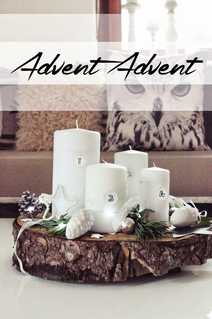 {DIY} simpler Adventskranz