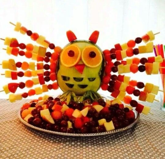 Ugle frugt -børnefødselsdag