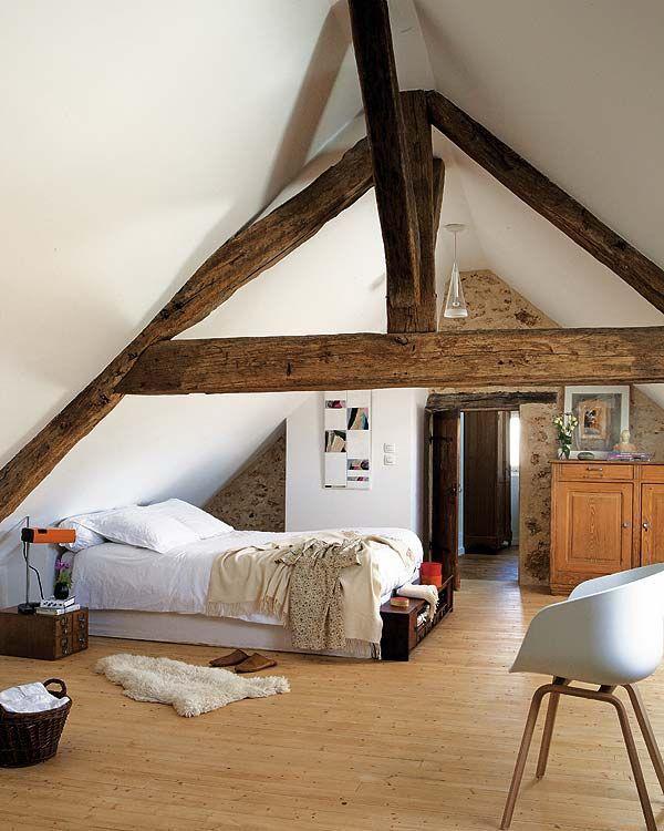 attic bed room