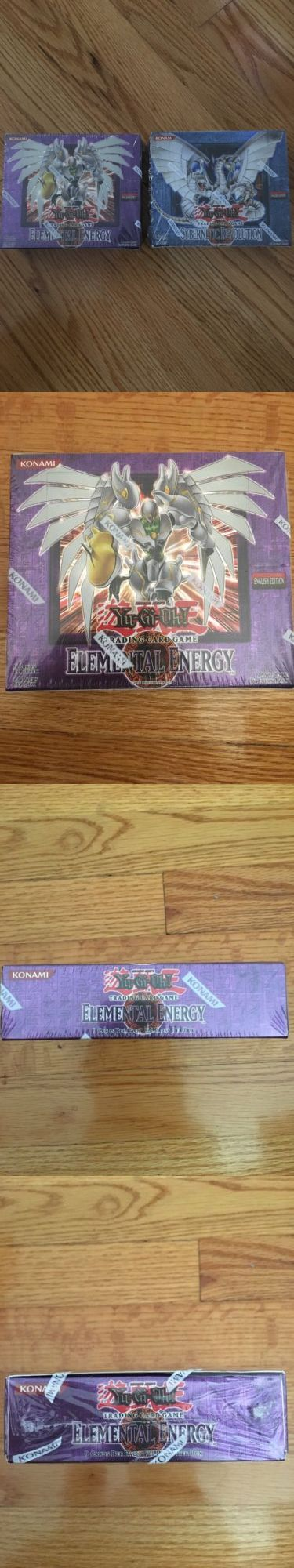 CCG Individual Cards 183454: Yugioh Elemental Energy English Booster Box And Cybernetic Revolution Unlimited -> BUY IT NOW ONLY: $210 on eBay!