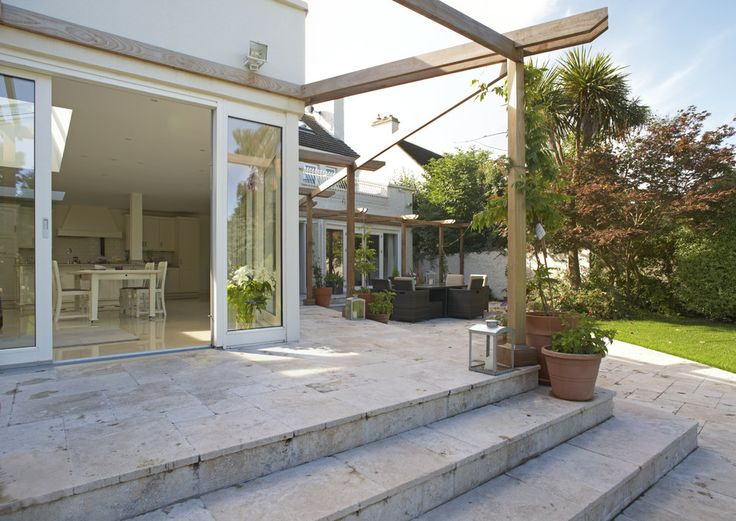 Natural Stone Tiled Patio