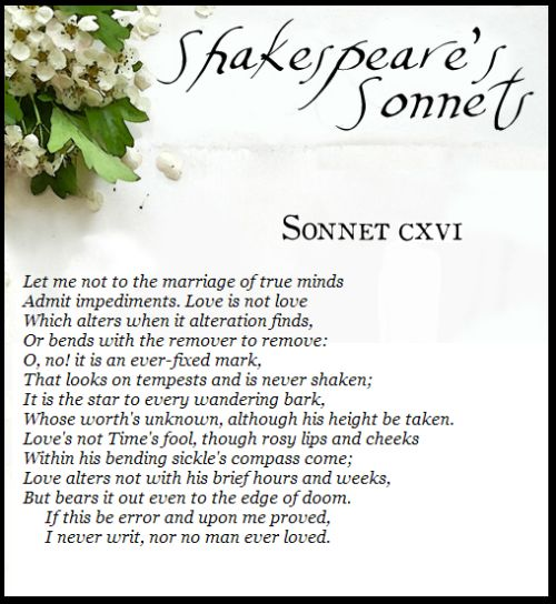 an analysis of the sonnet 46 by william shakespeare Year published: 1609 language: english country of origin: england source: shakespeare, w the sonnets in r g white (ed), the complete works of william shakespeare new york: sully and kleinteich.