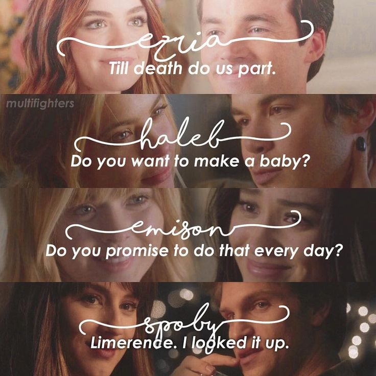 "101 Likes, 25 Comments - Multifandom (@multifighters) on Instagram: ""[pretty Little Liars endgames] Q:Favourite PLL couple? A:Spoby. #prettylittleliars #ezria #emison…"""
