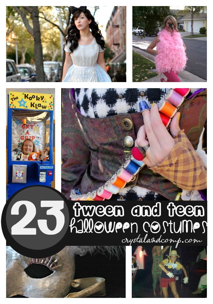 tween and teen halloween costumes