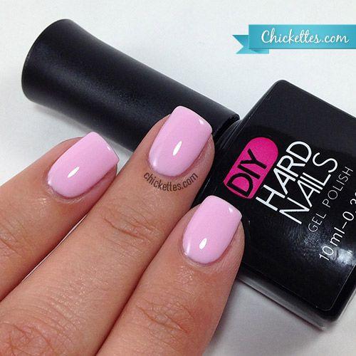 DIY Hard Nails - Pink Lily