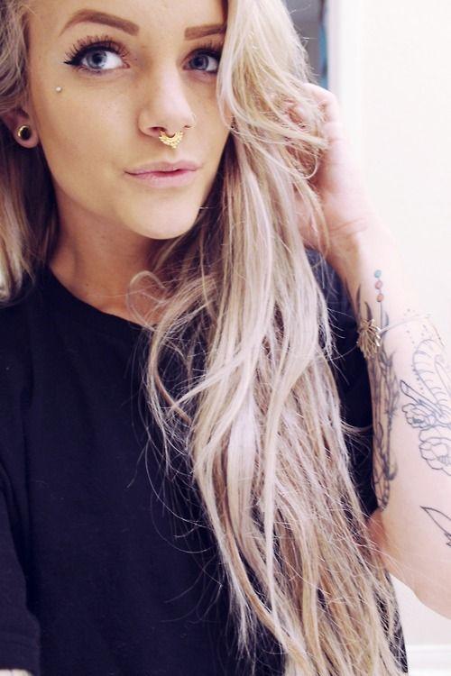 septum nose piercing tumblr 9OO7WHbM