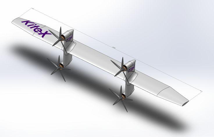 KiteX Highly efficient wind turbine using kites and
