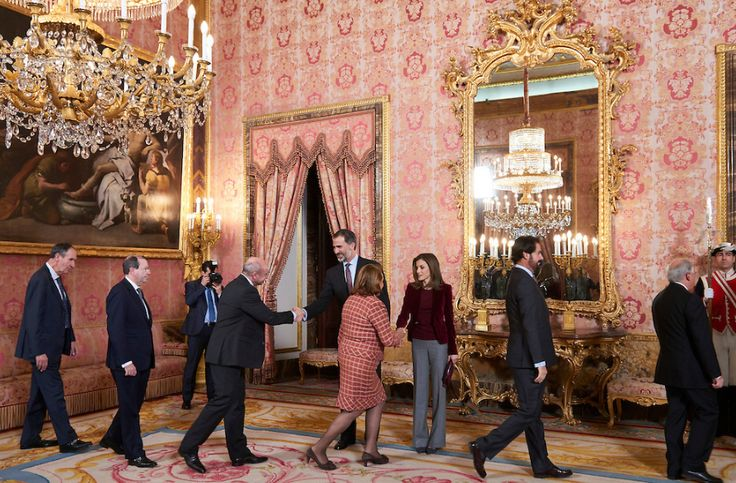 King Felipe and Queen Letizia attended the meeting of the Board of the Foundation Princess of Girona | 14.12.2016 - click to read more