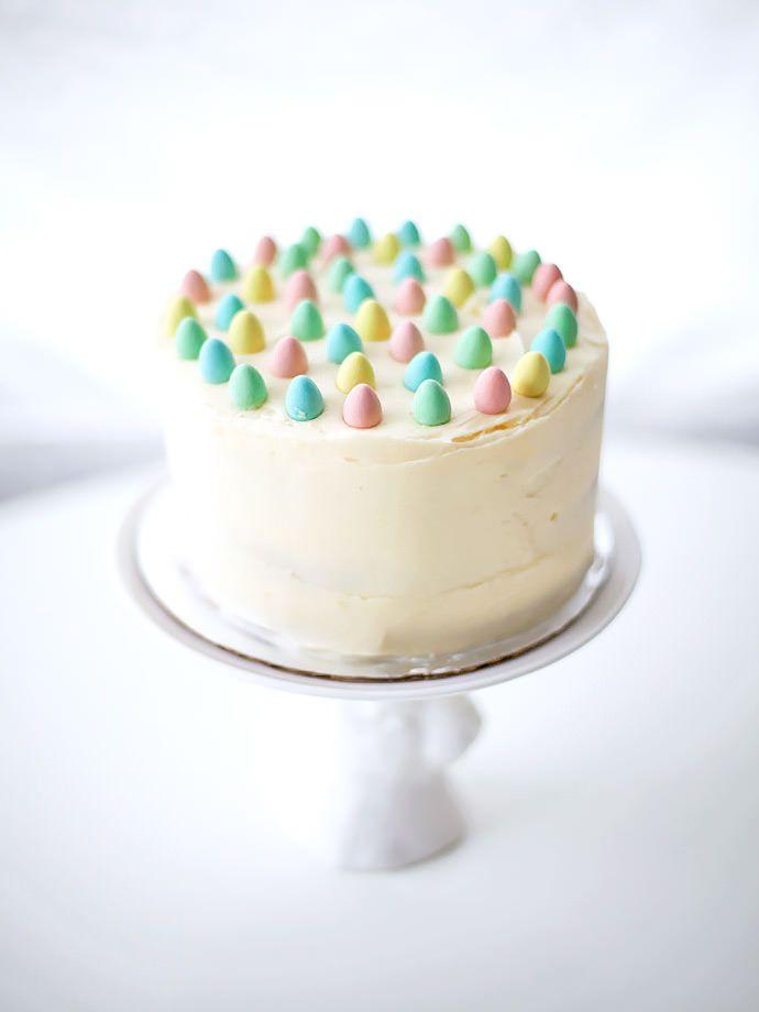 #DIY Mini Egg #Easter #Cake www.kidsdinge.com