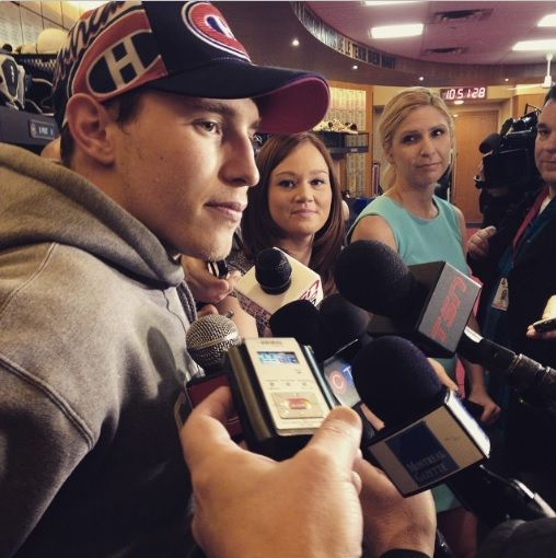 Every playoff series has its own personality. It will be up to us to set the tempo in Game 1. - Brendan Gallagher