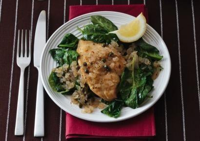 Chicken Piccata, recipe from PreventionHealthy Chicken Recipe, Chicken Dinners, Chicken Recipes, Chicken Piccata, Healthier Recipe, Dinner Ideas Healthy, Healthy Recipe, Chicken Chilis, Recipe Chicken