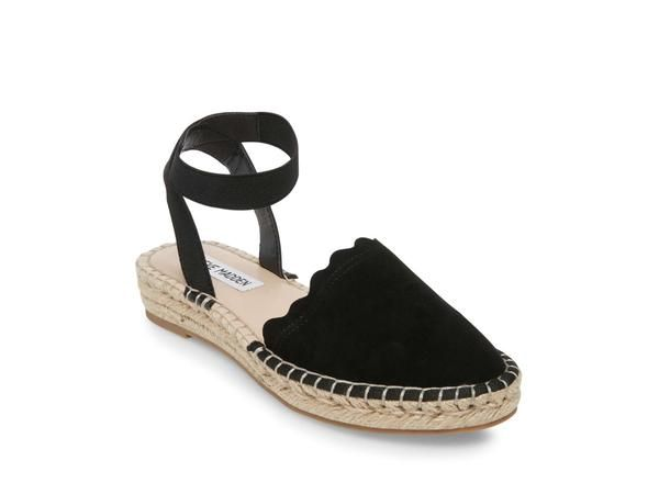 25d0292a285 Merina black suede in 2019 | Shoes | Black suede, Womens flats, Sandals