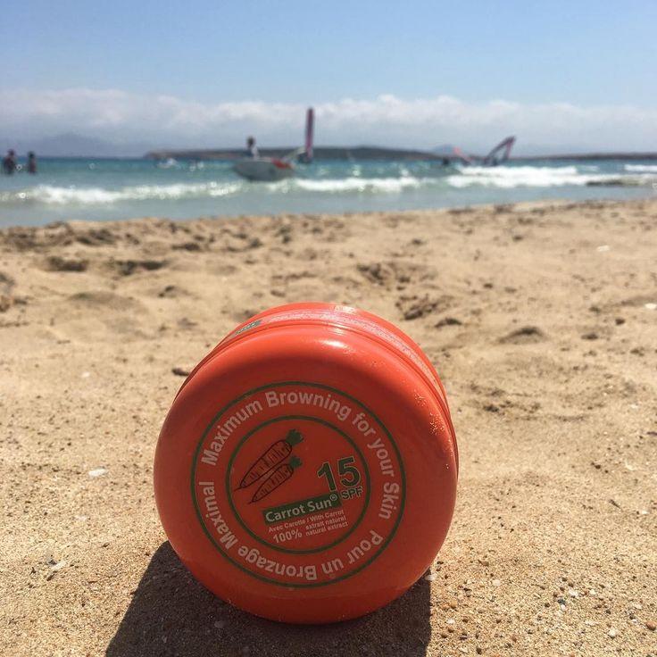 #summer #beach #sea #paros #island #tanning with #carrotsun #carrot #sand #beachlife #tanningup #rosinaperfumery #giannitsopoulou6 #glyfada #athens #greece #shoponline : www.rosinaperfumery.com 🇬🇷☀️🌊