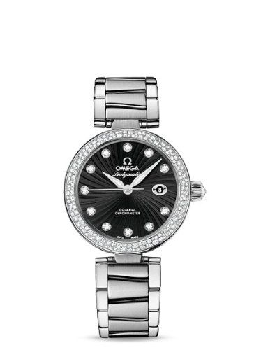 Ladies Omega Watches De Ville Ladymatic Omega Co-axial 34 Mm 425.35.34.20.51.001. => http://www.amazon.com/Omega-Watches-Ladymatic-Co-Axial-425-35-34-20-51-001/dp/B00DGZ1QOU/watches0906-20/ => Brand, Seller, or Collection Name:Omega,Model number:425.35.34.20.51.001,Part Number:425.35.34.20.51.001,Item Shape:Round,Clasp:Deployment Buckle,Case material:Stainless Steel,Case diameter:34 millimeters,Band Material:stainless steel bracelet.,Band width:20 millimeters,Band Color:Silver,Dial…