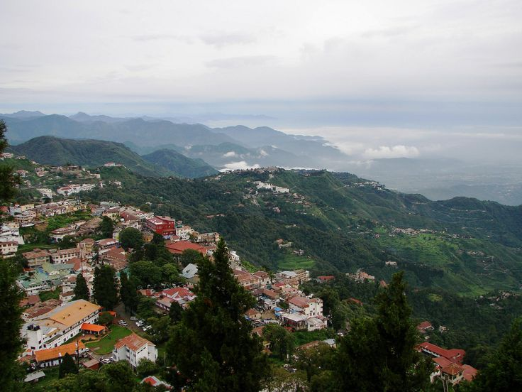 Doon Valley on a Cloudy Day