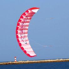 1.4 cm de Doble Línea Parafoil de Kite Con Las Herramientas del Vuelo Power Braid vela Flying Kite Kitesurf Playa Deportes Diversión Al Aire Libre Juguetes 3 Color(China (Mainland))