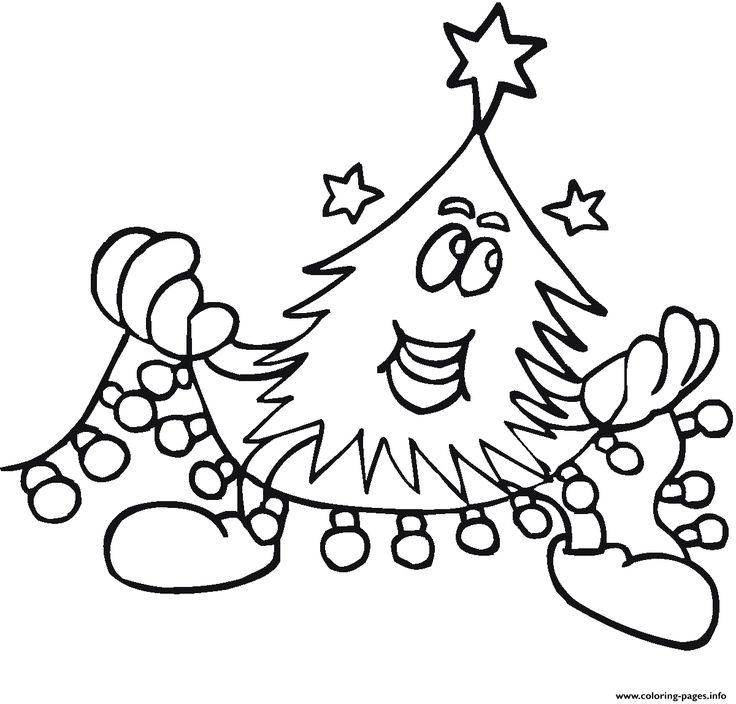 print adult christmas coloring pages - Coloring Pages Christmas Lights