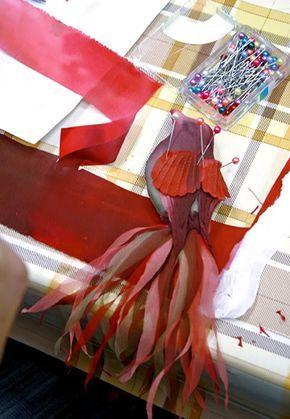 """Отчет по МК """"Райская птица"""" Юлии Севастьяновой - """"Шерстяная ювелирка"""" Виктории Козырь"""