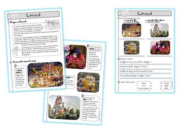 Document Carnaval fiches pedagogiques