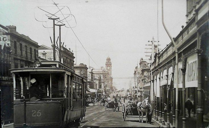 Elizabeth Street, Hobart, Tasmania  - circa 1910 | by Aussie~mobs