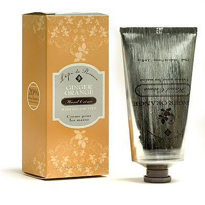 L'Epi de Provence 20% Shea Butter Hand Cream - Ginger Orange - 2.6 fl.oz