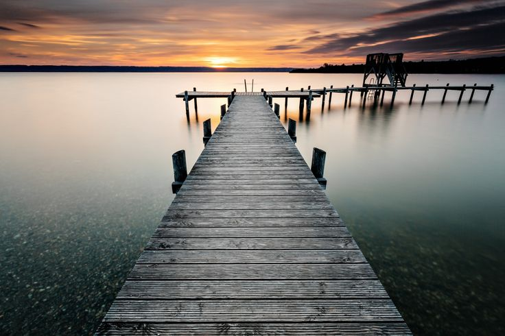 another silent minute at lake ammersee by Robert Freytag on 500px