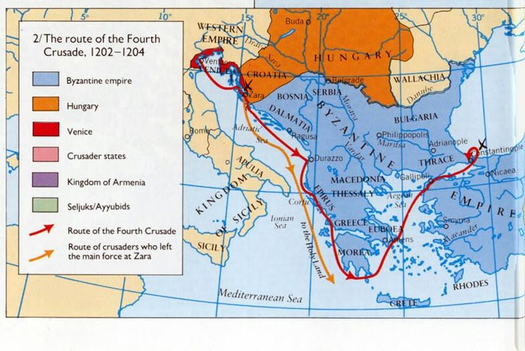 the history of the fourth crusade Kids learn about the crusades during the middle ages and medieval times  history  islamic empire  middle ages for kids  the fourth crusade.