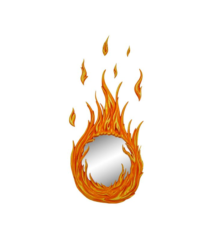 Flame Fire Mirror is Finished Twitter Lovers..!!