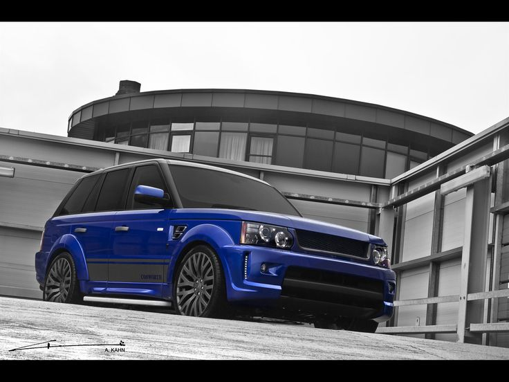 Awesome 2012 A Kahn Design Cosworth Imperial Blue Range Rover