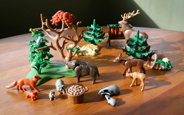 Playmobil's Christmas in the Forest