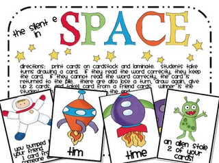 Space 'Silent E' game: Cvce Resources, Cvce Long, Silent E Games, Autism Ideas, Long Vowels, Cvce Games, Teaching Ideas, Schools Stuff, Special Teaching