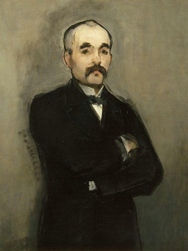 Édouard Manet, 1879, Georges Clemenceau, Musée D'orsay